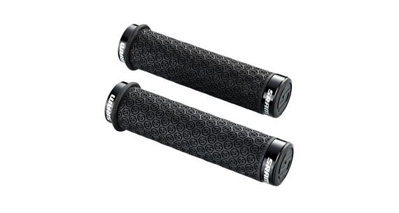 SRAM DH Silikongriffe mit Schraubsicherung schwarz
